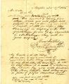 1835 correspondence