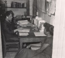 Faustine Hamblin Dunn serving as a guidance counselor at the Alabama State Laboratory High School in Montgomery, Alabama.