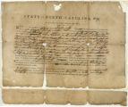 North Carolina land warrant, No. 94