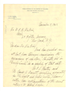Thumbnail for Letter from Brenda R. Moryck to W. E. B. Du Bois