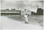 Company stores and offices and clinic of Delta Pine Company, Cotton Plantation, Scott, Mississippi Delta, Mississippi, October 1939