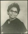 Female portrait, unidentified