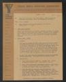 YMCA urban work records. Urban Group Executives' Meetings & Notes B, 1970 - 1971 (Box 6, Folder 4)
