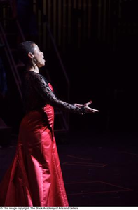 Onstage Singer Performing Hip Hop Broadway: The Musical