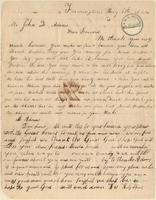 Letter from Amistad Captives to John Quincy Adams