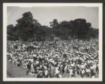 Washington Park (0021) Events - Parades - Bud Billiken parade, 1938-08-13