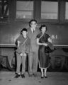 Dr. Walter Yeh and family at Union Station