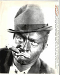 Charles Jim Cornell in Blackface