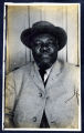 Photograph of an African-American man, Goldfield (Nev.), early 1900s
