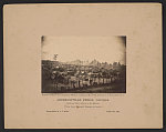 Andersonville Prison, Georgia. South-east view, taken from the stockade Thirty three thousand prisoners in bastile /
