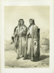 Bedouins, from the Vicinity of Suez. One of the Mahazi, and the other of the Soualeh Tribe