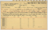 Enlistment Card for Raymond Augustus Charles, 15th NY National Guard in 1946