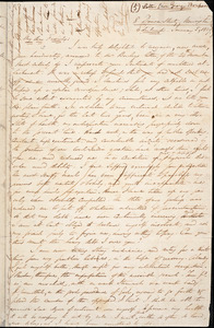 Letter from George Thompson, 8 Duncan Street, Newington, Edinburgh, [Scotland], to William Lloyd Garrison, 1839 January 5