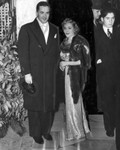 Mary Pickford and fiance