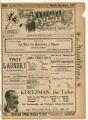 """Mrs. Gen. Tom Thumb and her company of American Lilliputians"" theater program, Bijou Opera House, Minneapolis, Minnesota"