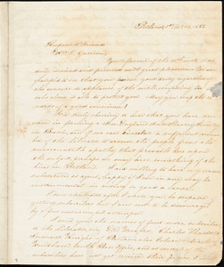 Thumbnail for Letter from Nathan Winslow, Portland, [Maine], to William Lloyd Garrison, 1832 [January] 14
