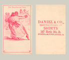 "The ""Blue Danube"" Waltz: Daniel & Co., Manufacturers of Shirts"