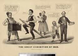 The great exhibition of 1860.
