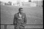 [Roosevelt Carter with his camera at the March on Washington for Jobs and Freedom]