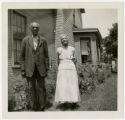 African American ex-slave portrait, Tap and Susie Hawkins
