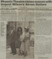 Phoenix Theatre closes season with August Wilson's Seven guitars