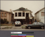 House of a Lao family after bomb attack, East Oakland