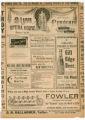 """The Corner Grocery"" theater program, Bijou Opera House, Minneapolis, Minnesota"