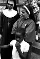 Nuns on 129th Street in Harlem, conducting summer activities for the children there.