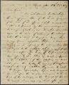 William H. Crawford letter to D. B. Mitchell, 1809