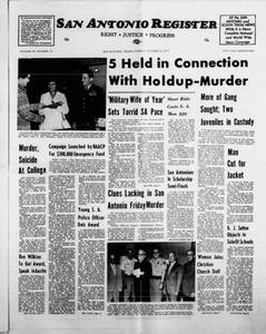 San Antonio Register (San Antonio, Tex.), Vol. 43, No. 16, Ed. 1 Friday, October 5, 1973 San Antonio Register