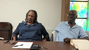 Oral History Interview with Minnie Mosley Gram and Rostell Williams, June 29, 2015