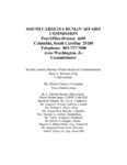 The status of equal employment opportunity in South Carolina state government