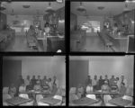 Set of negatives by Clinton Wright including Quality Cafe, and McCoy Tennis Club, 1964
