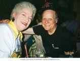 Wanda Brown and Skippy LaRue at Wanda's birthday party at Patty Summers in Seattle, Washington, August 1992