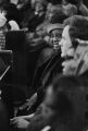 Audience members at Tabernacle Baptist Church in Selma, Alabama, probably listening to Martin Luther King, Jr., speak.