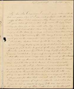 Letter from Experience Billings, Cambridge, [Massachusetts], to Maria Weston Chapman, 1839 April 22