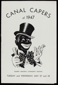 """Canal Capers of 1947"" program"