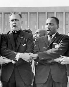 Rev. Theodore M. Hesburgh and Martin Luther King, Jr