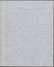 Letter to] Dear Friend Garrison [manuscript