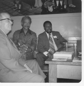 Willie Pruitt, Jack Buck, and Marvin Brooks