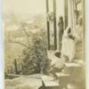 Black family on their porch in Vicksburg, Mississippi