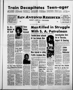 San Antonio Register (San Antonio, Tex.), Vol. 43, No. 10, Ed. 1 Friday, August 24, 1973 San Antonio Register
