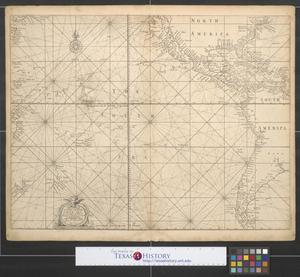 A generall [sic.] chart of the South Sea from the River of Plate to Dampiers Streights on ye coast of New Guinea
