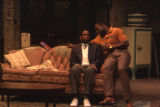 Actors in a scene from the play A raisin in the sun