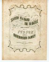 Slavery is a hard foe to battle