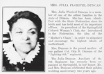 Mrs. Julia Florivel Duncan