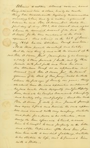 Agreement between a colored woman named Lucy, Peter D. Vroom, Sr., and Peter D. Vroom, Jr., November 20, 1830