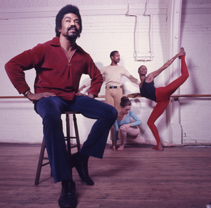 #107: Alvin Ailey, Judith Jamison, Kent, Williams, Rotardier in Dance Studio with Ailey Dance Solos