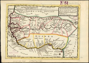 Negroland and Guinea: with the European settlements explaining what belongs to England, Holland, Denmark &c