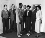 Lockheed Group visit hospital
